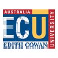Study in Edith Cowan University