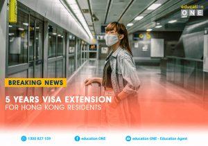 BREAKING NEWS 5 Years Visa Extension for Hong Kong Residents