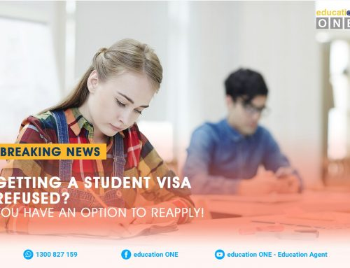 GETTING A STUDENT VISA REFUSED? YOU HAVE AN OPTION TO REAPPLY!