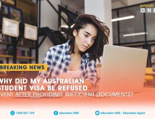 Why Did My Australian Student Visa Be Refused Even After Providing Sufficient Documents?