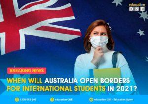 When will Australia open borders for international students