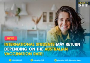 International student return to Australia depend on vaccination rate